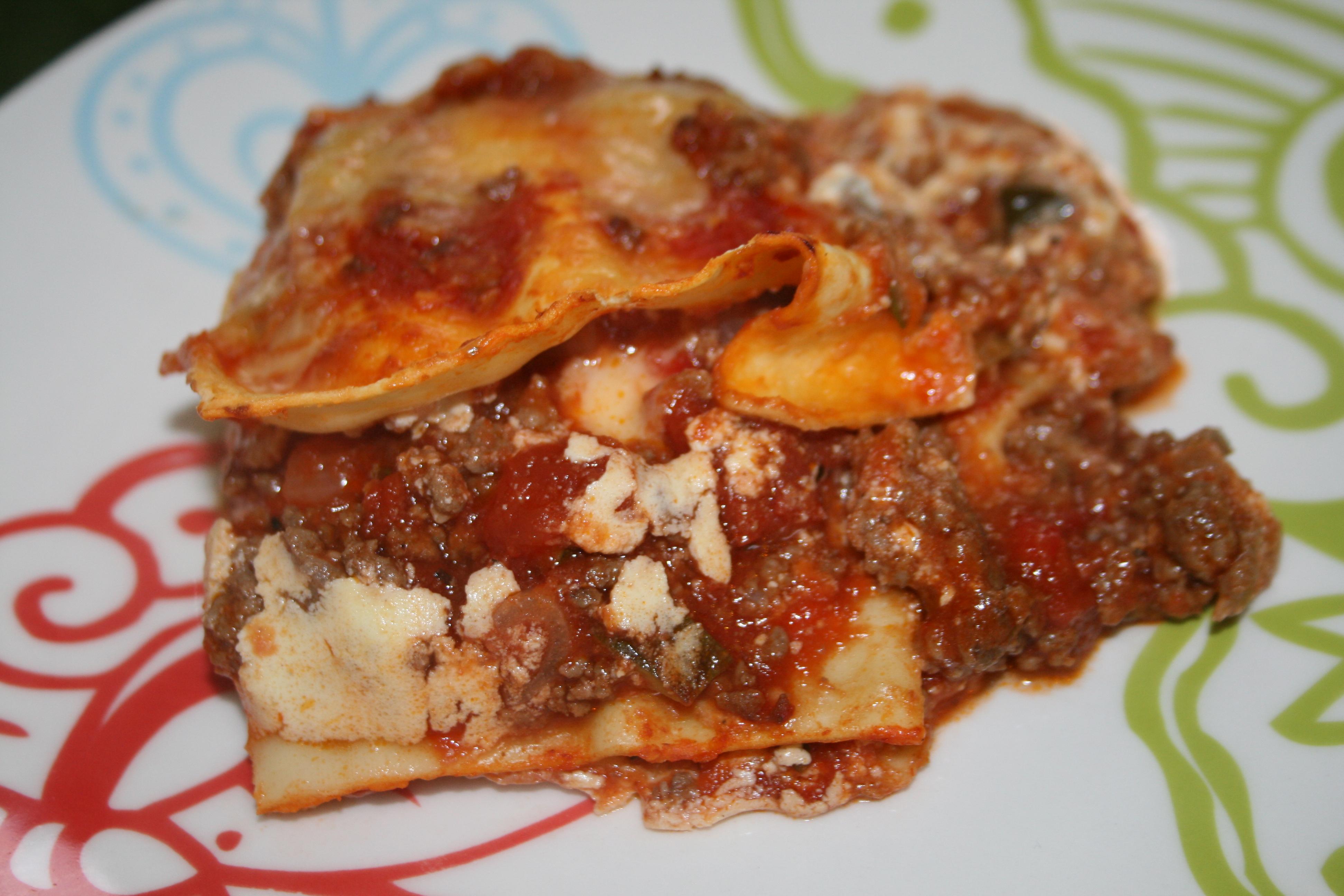My Beef & Zucchini Lasagna Recipe