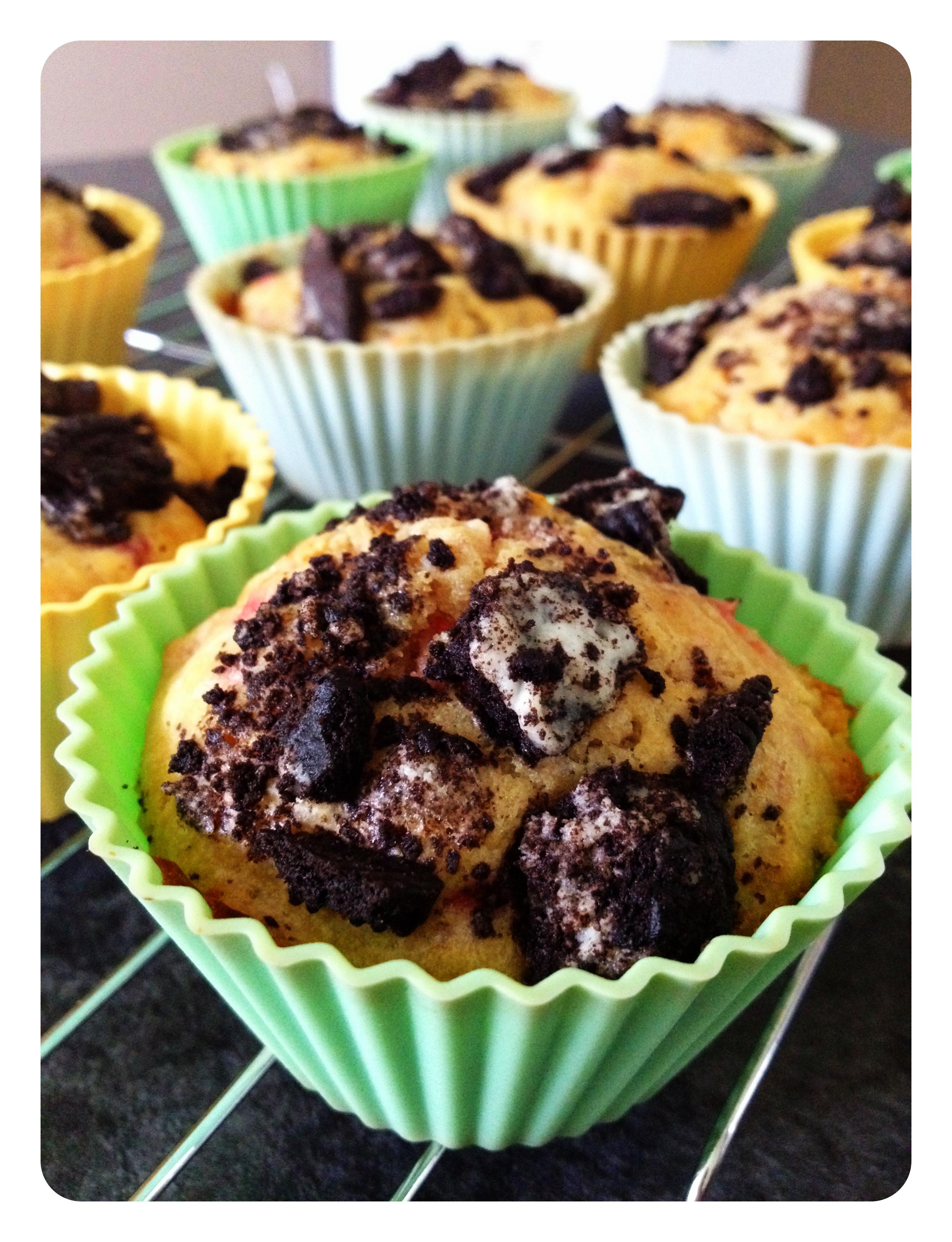 Strawberry Oreo Muffin Recipe