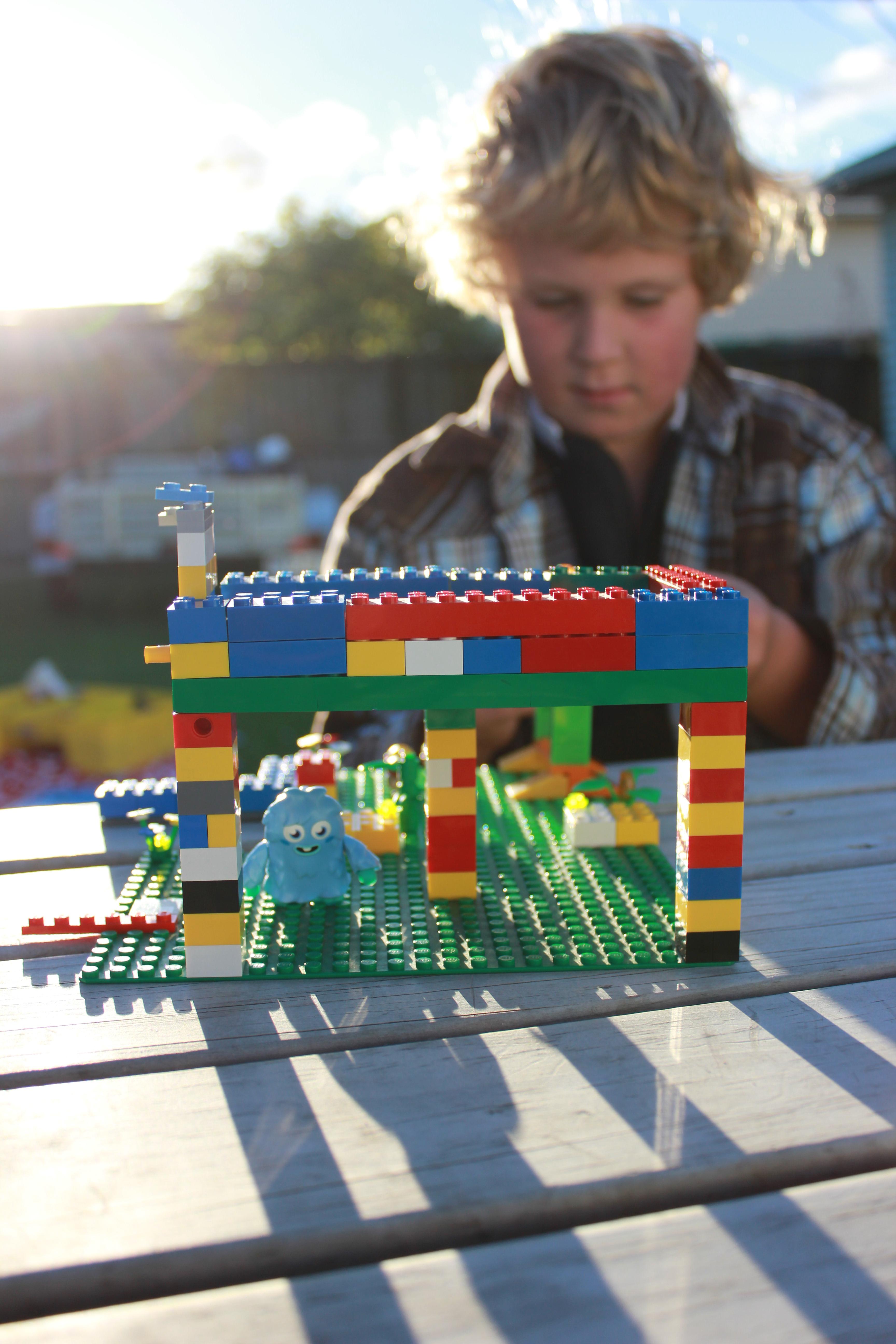 Outside Lego