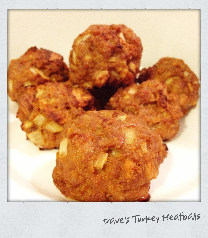 Cook | Dave's Turkey Meatballs