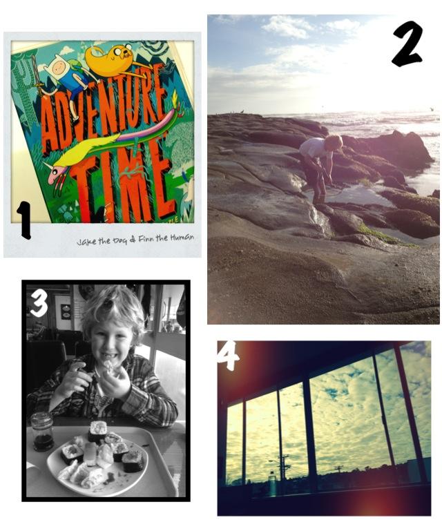 Adventure Time, Muriwai Beach, Sushi, Autumn