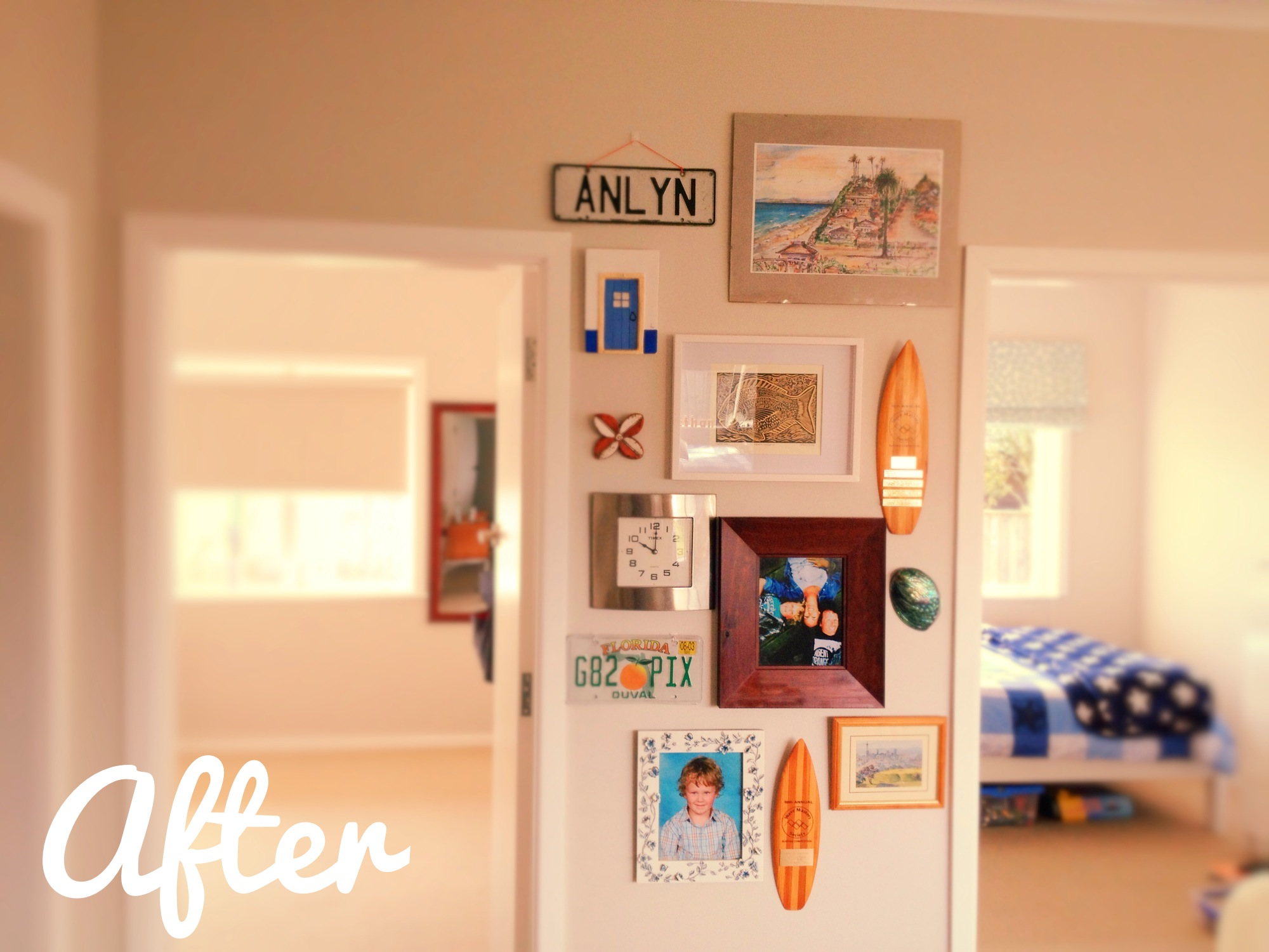 Before & After | Wall Collage