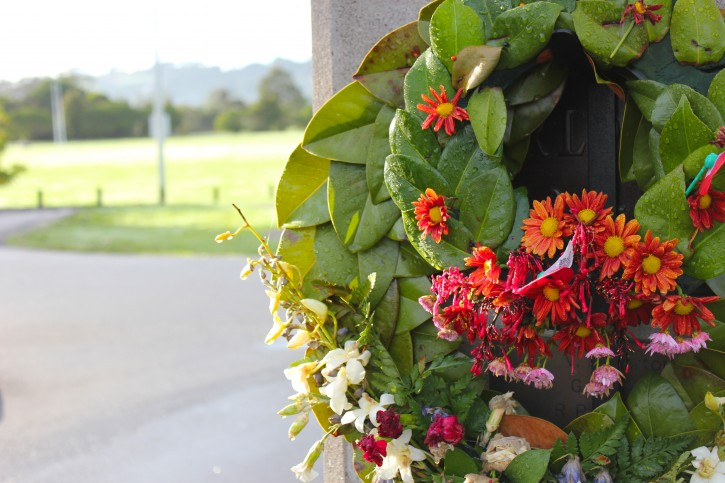 Daily Look | Anzac Wreath, 10 days on