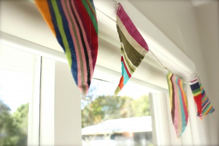 Nursery Sneak Peek | I hung the bunting!