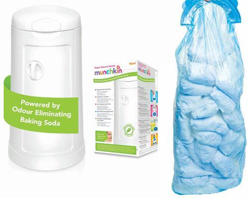munchkin nappy disposal system
