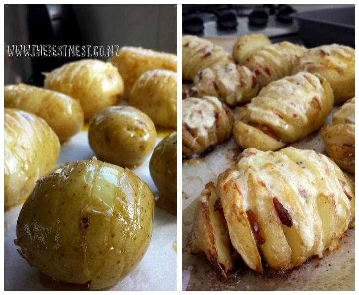 Pinterest, Nailed it!   Hasselback Potatoes Recipe