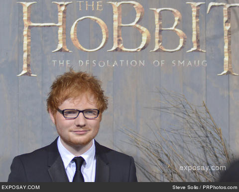 Ed Sheeran is a tricksy little hobbit