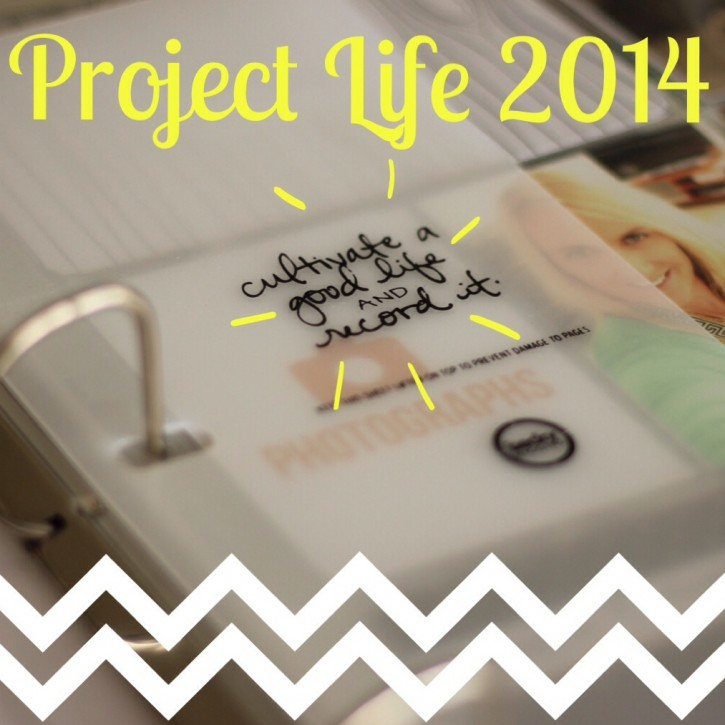 Project Life| Cover & Week 1 + Linky anyone?