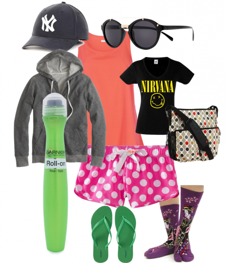 What to wear on the school run.  For reals.