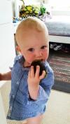 Baby Eating Avocado