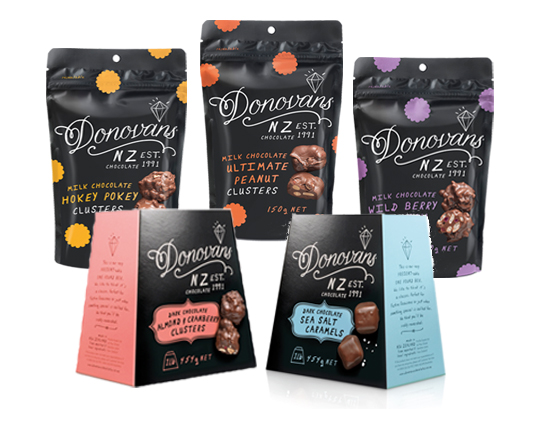Donovans Chocolates New Zealand