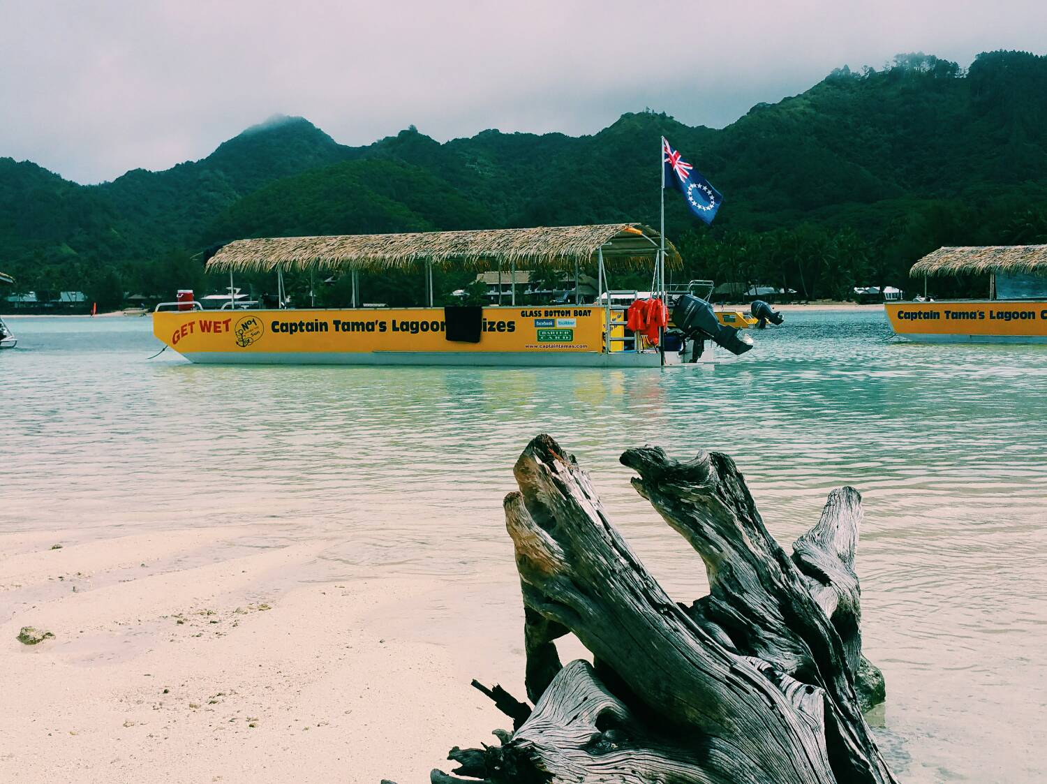 On Holiday in Rarotonga | Captain Tama's Lagoon Cruizes