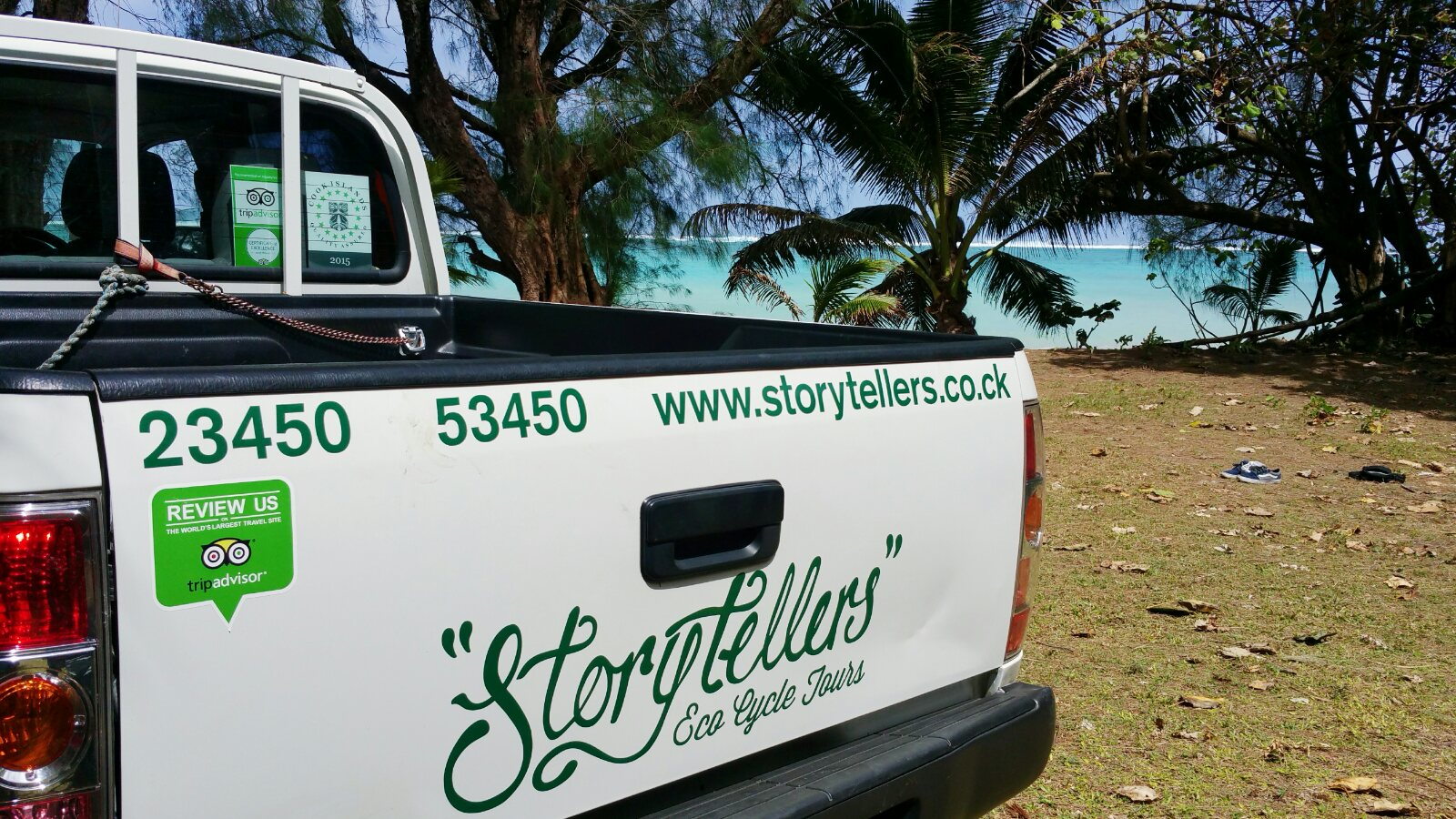 On Holiday in Rarotonga | Storytellers Eco Cycle Tours