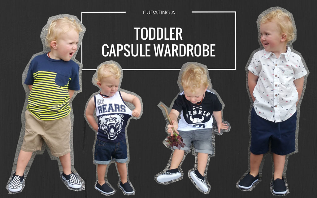 Curating a Toddler Capsule Wardrobe