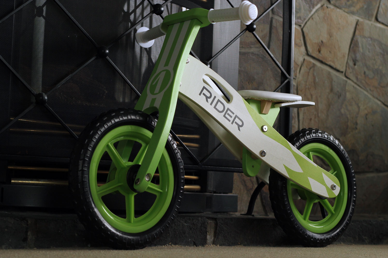 The Christmas List | JR Wooden Balance Bike