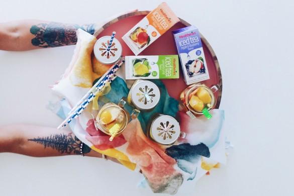 New Zealand's Top Mummy Blogger Blog Iced Tea Recipes