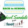 New Zealand's Top Mummy Blogger Blog School Sandlas leather shoes