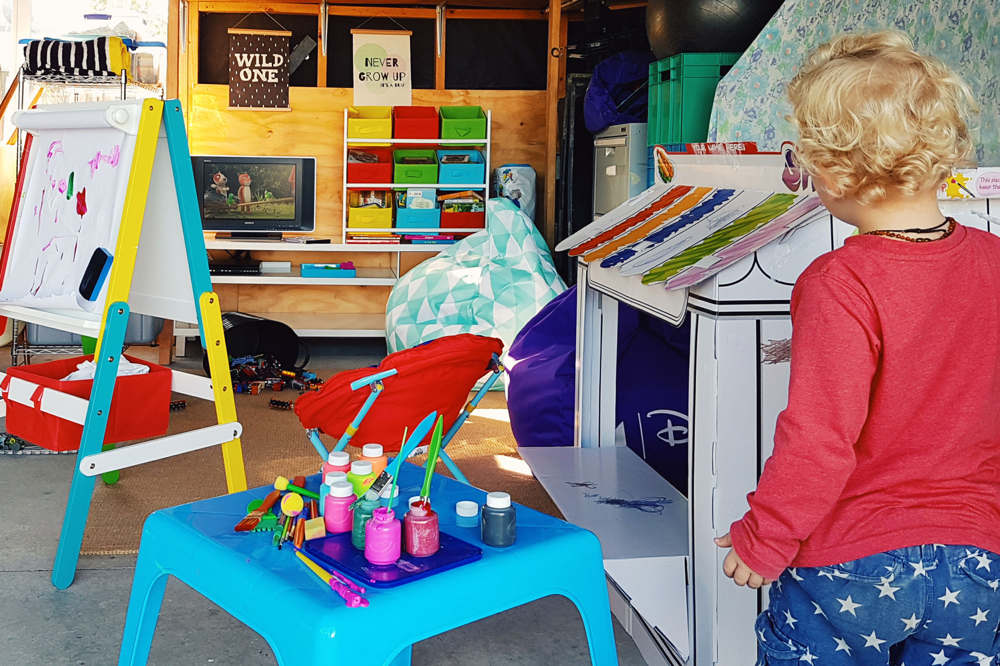 New Zealand's Top Mummy Blogger DIY Playroom