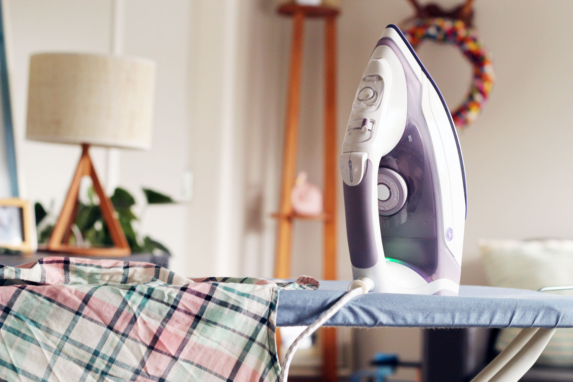 How to make Ironing a little more enjoyable