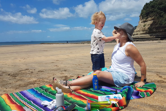New Zealand's Top Mummy Blogger Parenting Travel Blog Family Nivea Sunscreen review
