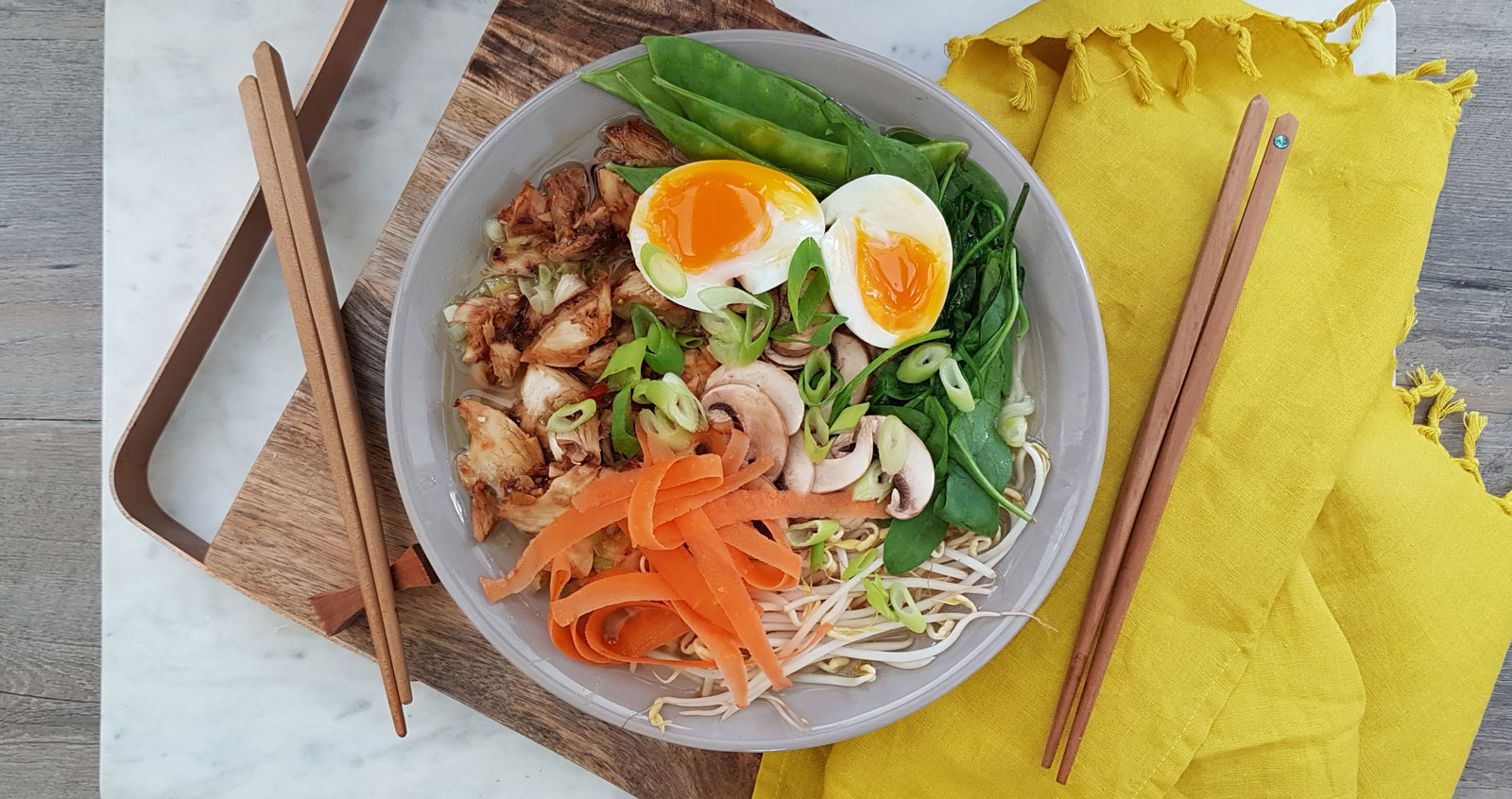 How to: Family Friendly Ramen Bowl Recipe