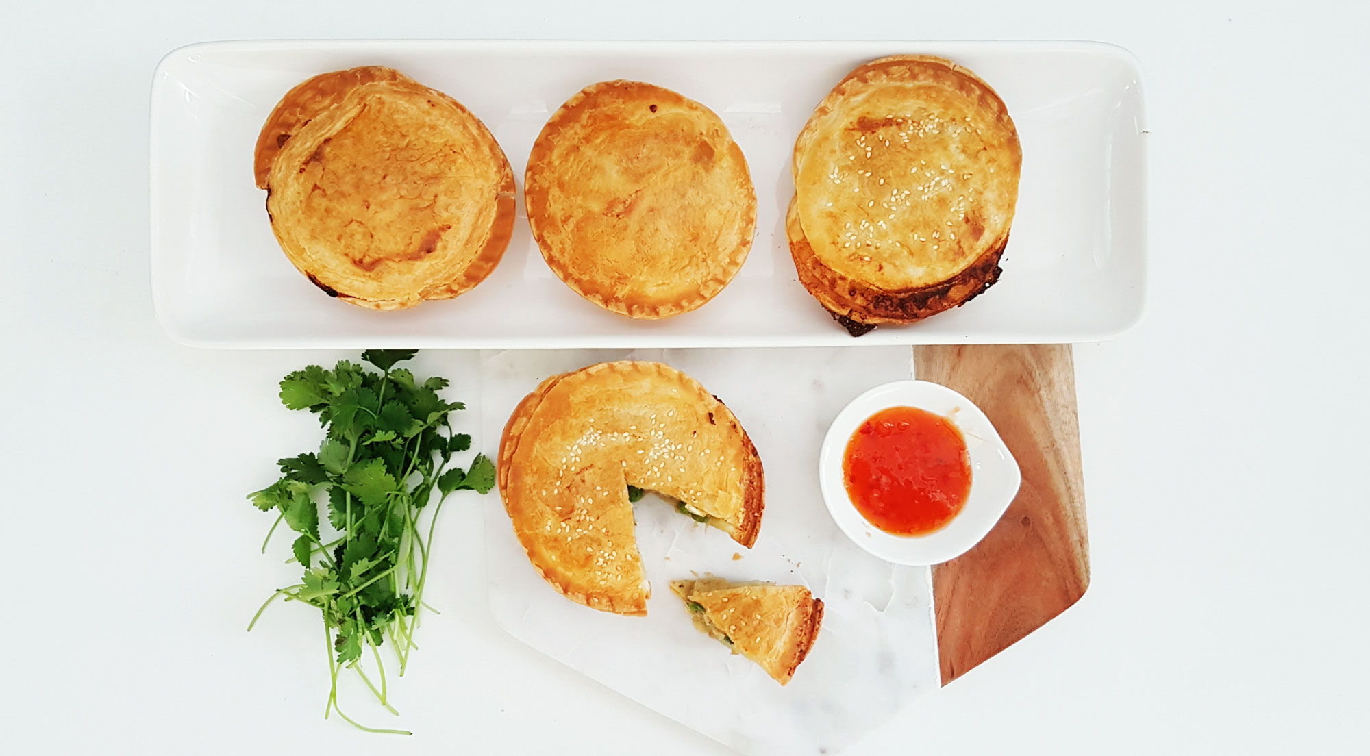 Thai Chicken Pies – Dinner is served!