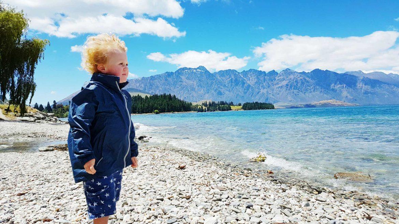 New Zealand's Top Mummy Blogger Parenting Travel Blog Family Queenstown Lake Wakatipu