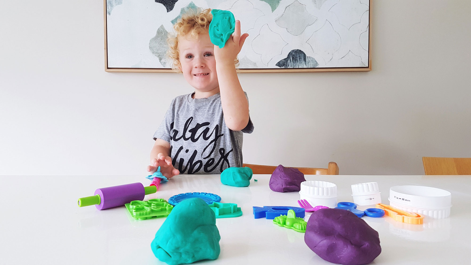 We Love:  Dough Queen Natural Play Dough