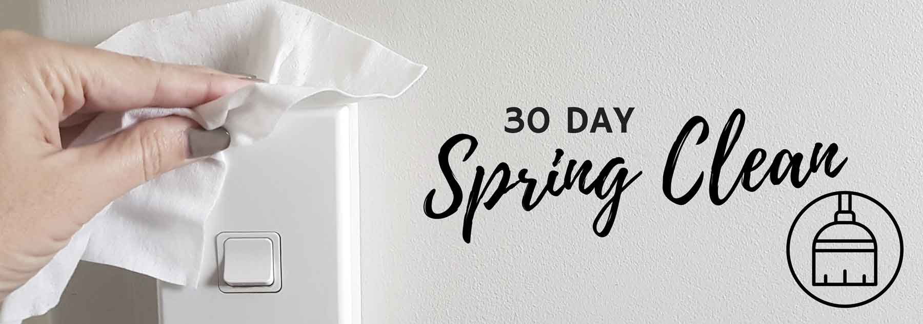 New Zealand's Top Mummy Blogger Parenting Travel Blog Family yarns 30 Day Spring Clean Template