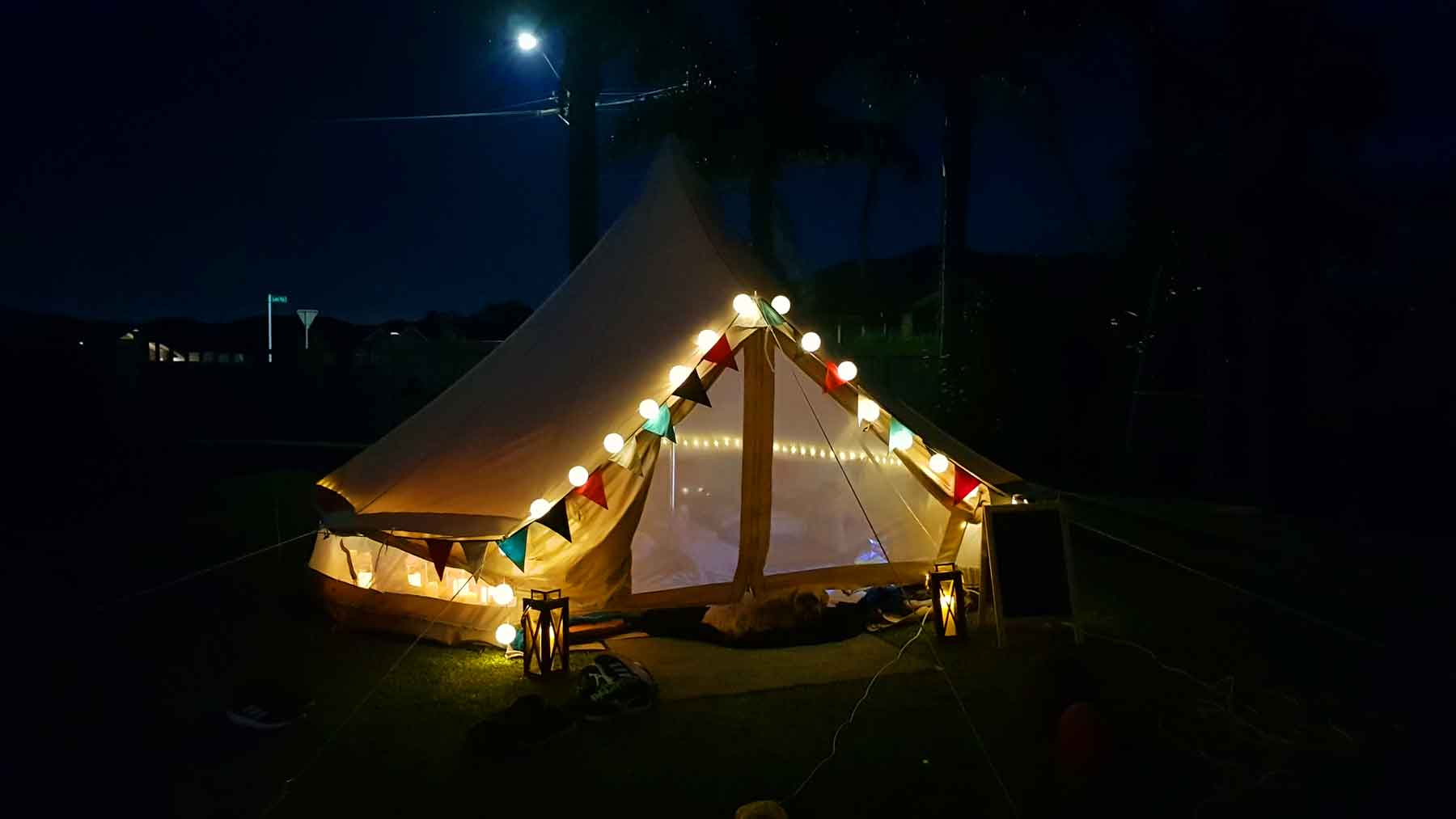 New Zealand's Top Mummy Blogger Parenting Travel Blog Family yarns Kiwi Kids Glamping Party Bell Tent