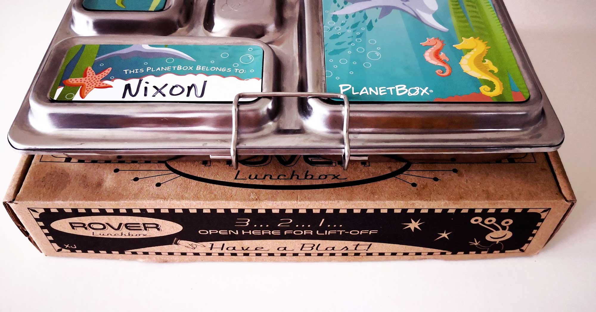 PlanetBox Review: Nixon's quirky eating and the Lunchbox that makes it all ok