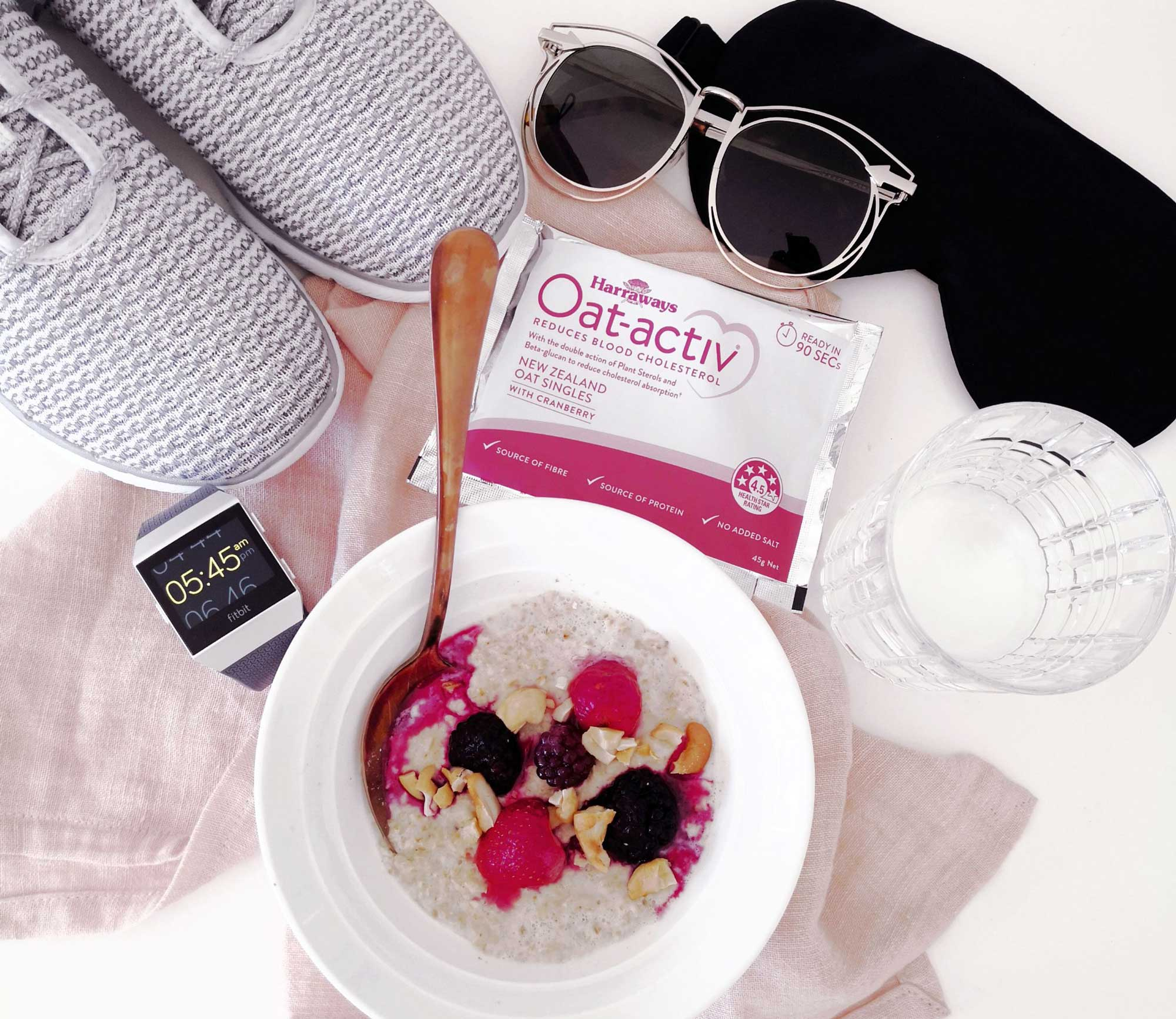 New Zealand's Top Travel Lifestyle Blog Breakfast Oats