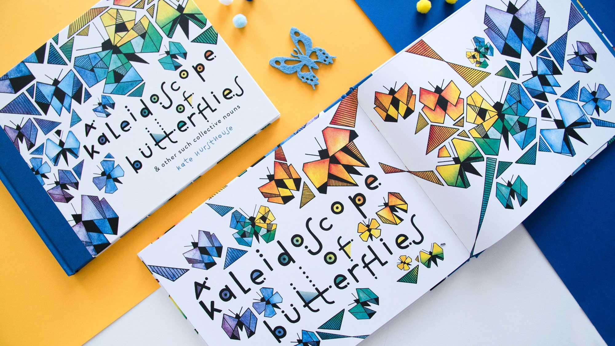 Kid's Books: A Kaleidoscope of Butterflies by Kate Hursthouse