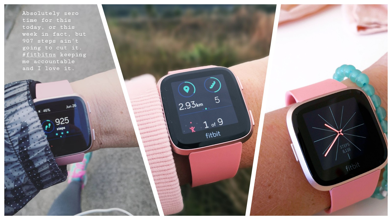 Fitbit Versa: My Winter #Fitspo