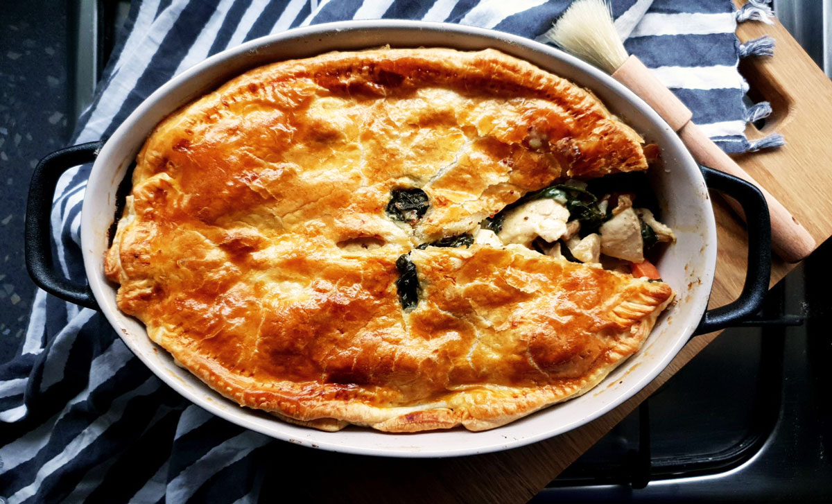Cook, Eat: The BEST Country Chicken Pie Recipe – Ever!