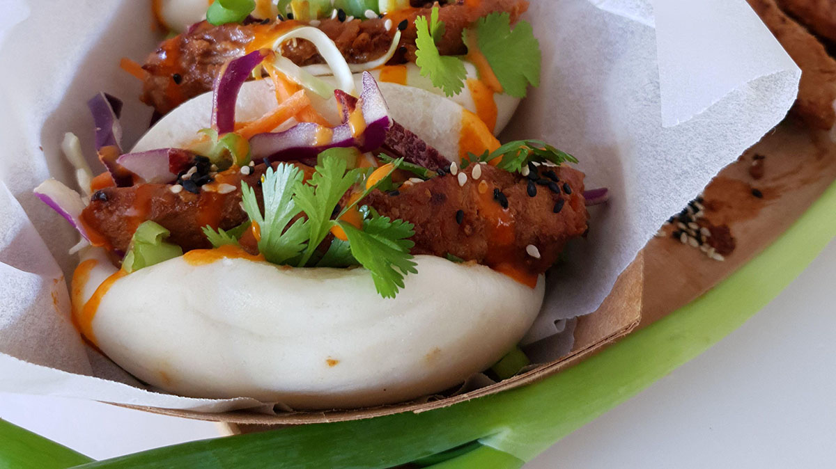 Sticky Chicken Bao Recipe
