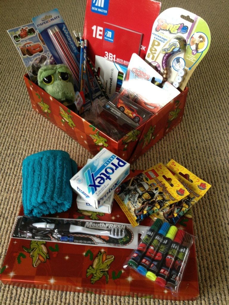 Christmas Shoebox Project Completed!