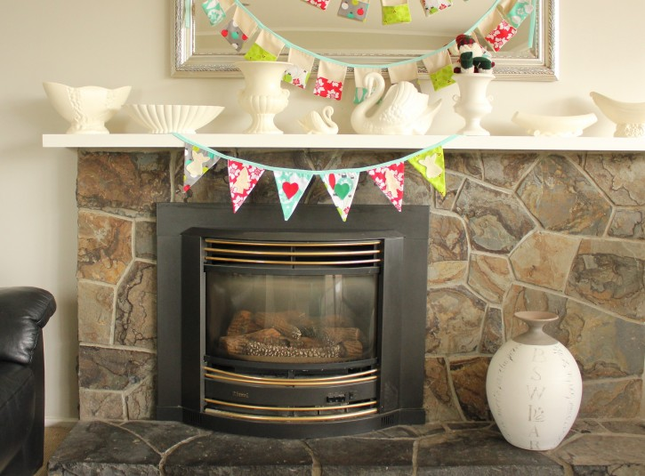 Show & Tell | Christmas Bunting