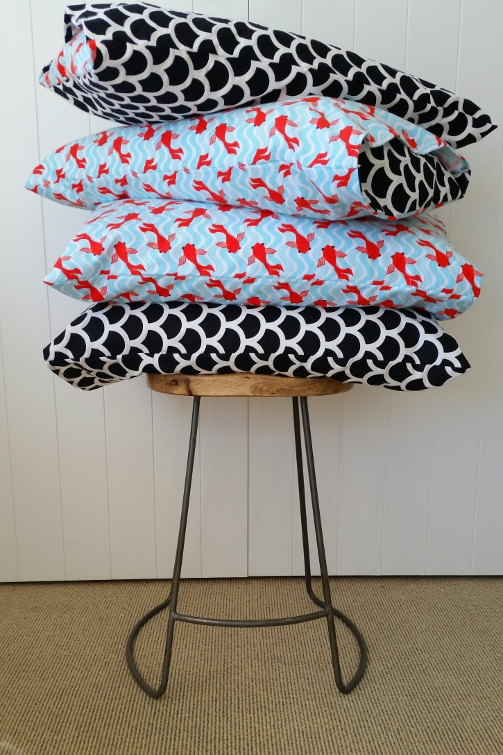 Show & Tell | Pillowcases for the Boys