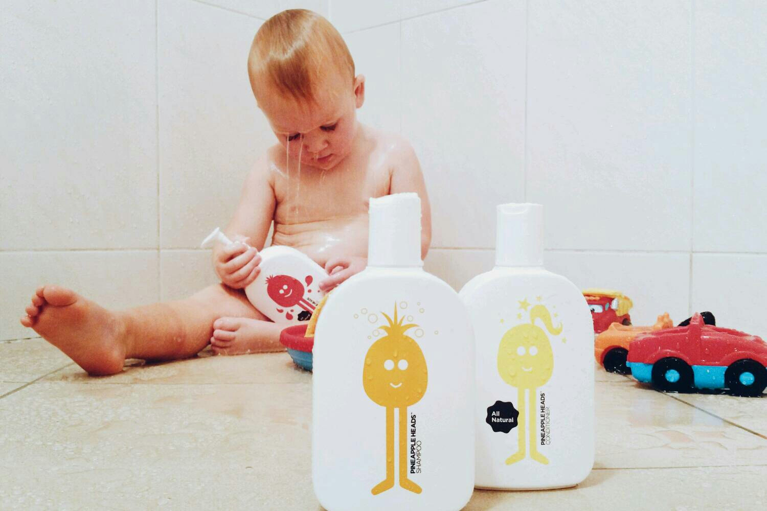 No baddies allowed – Pineapple Heads All Natural Hair & Bath Care Products for Kids + Giveaway!
