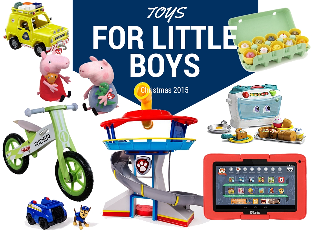 The Christmas List > Toys for Little Boys + Giveaway