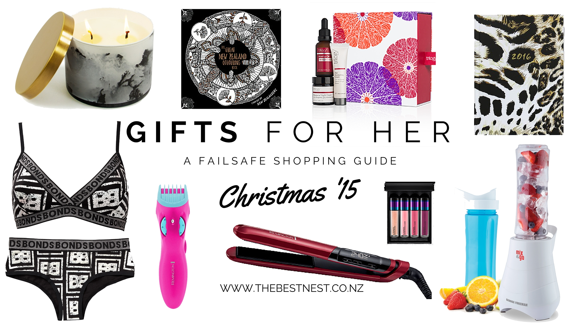 Christmas Gift Guide – For Her (which is probably you right?)