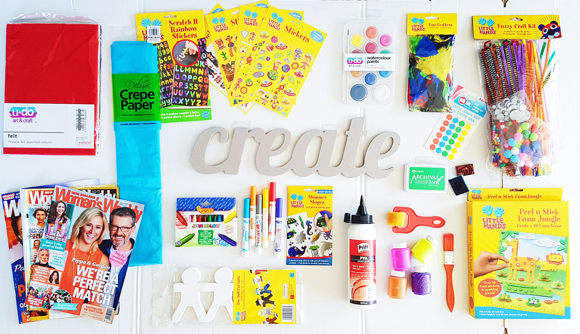 School Holiday Craft – The Seven Day Mural