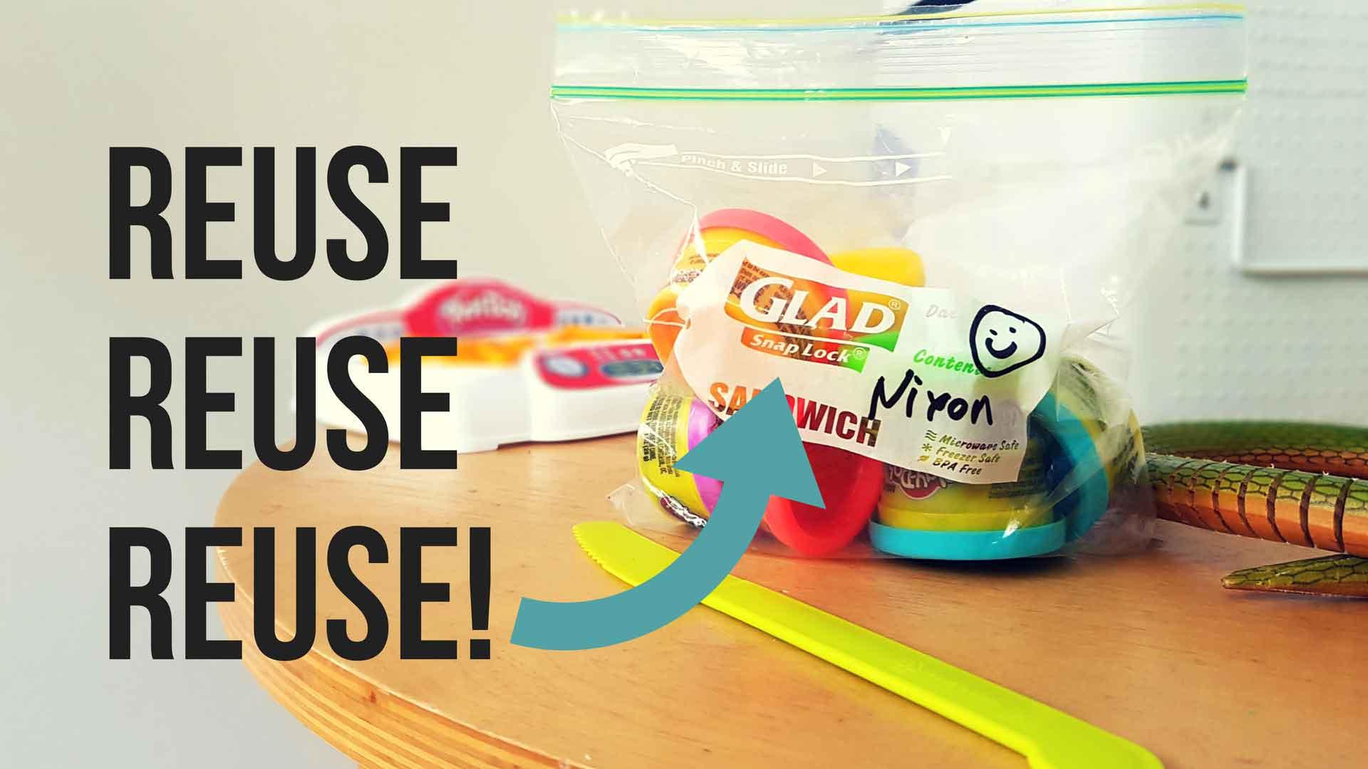 Reuse, Reuse, Reuse……..Recycle!