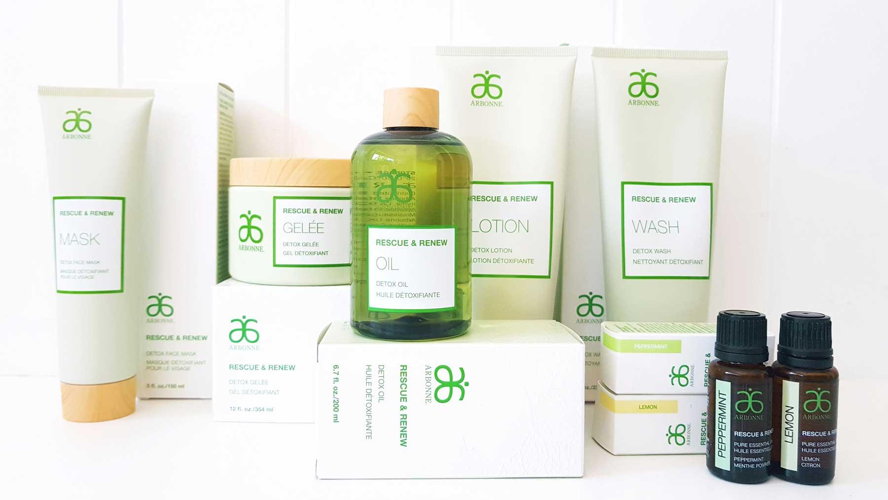 Beauty Review – Arbonne Rescue & Renew