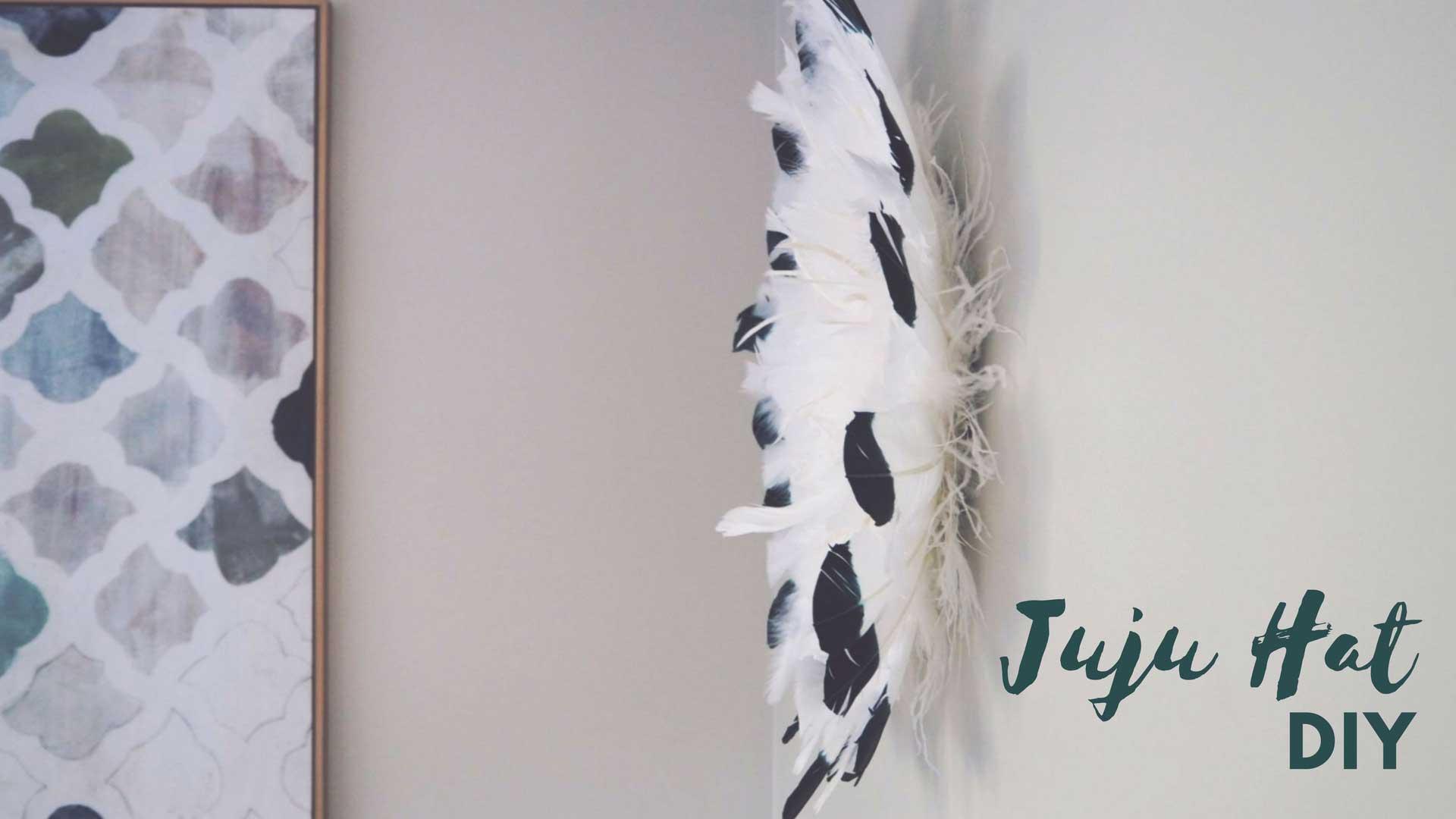 Get Crafty – DIY Feather Juju Hat Tutorial